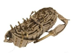 Брезентовая лента на пулемёт Максим (царская)