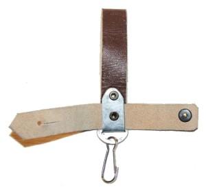 Тренчик к штык-ножу АК74 коричневого  цвета.