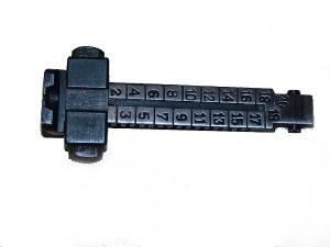 Прицельная планка на Mauser К-98.