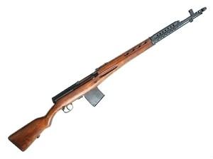 Охолощённая винтовка АВТ/СВТ . под холостой патрон 7,62х54.