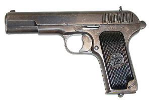 Пистолет ТТ-СХ под шумовой патрон 10х31 Техкрим.