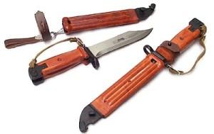ММГ  Штык Нож на АКМ 6х4