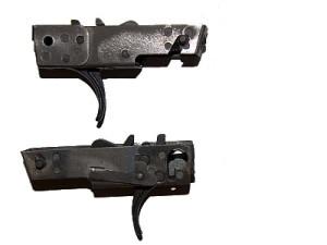 УСМ на пистолет-пулемёт Кедр в сборе.