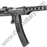 Пистолет пулемёт ППС-43 с возможностью выстрела холостым патроном.