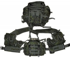 Жилет 6Ш-116 с рюкзаком из комплекта 6Б-38