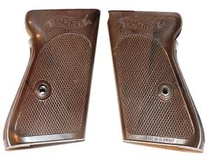 Накладки на Walther PPK -кал 7,65мм (коричневые)