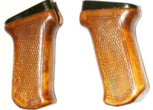 Деревянная ручка на автомат Калашникова АК-47 тип №2
