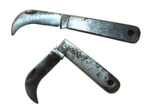 Нож из ЗИП набора инструментов для пулемёта  Максим.