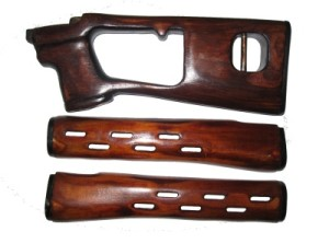 Комплект фанеры на винтовку СВД и карабин Тигр