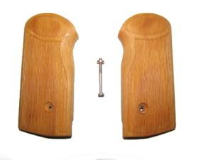 Деревянные накладки на АПС (Стечкин) светлые,новодел