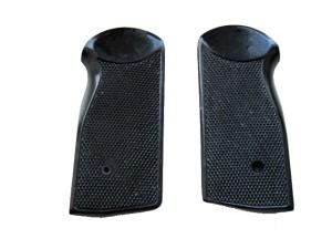 Накладки на пистолет АПС  (Стечкин) черного цвета ,Редкие